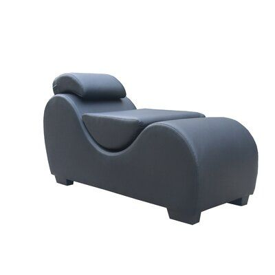Orren Ellis Houghton Yoga Chaise Lounge Upholstery Color Black Lounge Chaise Chair Furniture