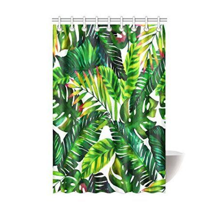 Home Tropical Shower Curtains Tropical Showers Framed Art Prints