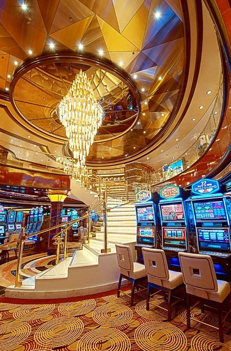 Try your luck in our Casino at the slots or table games — even get free lessons! #princess #bucketlist