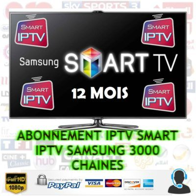 Abonnement Smart Iptv Samsung Smart Tv Samsung Smart