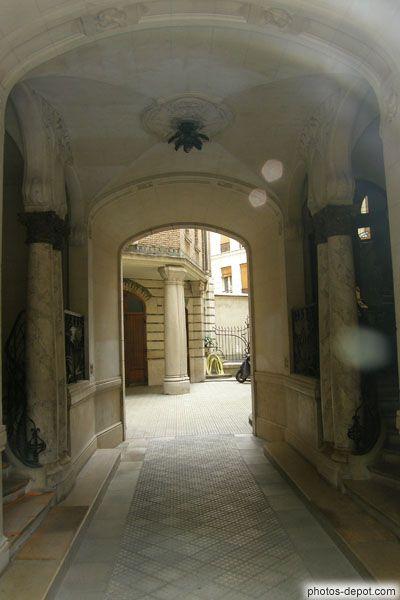Castel Béranger, apartment building, by Hector Guimard 1895-98, 14