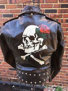 Details About Vintage 60 S Schott Duro Jack Perfecto 518 Leather