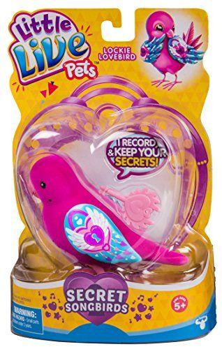 Little Live Pets Bird Lockie Lovebird Walmart Com In 2020 Little Live Pets Pet Bird Pets