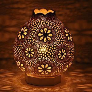Safari Handmade Gourd Lamp Shade Calabash Vintage Etsy 2021 Su Kabagi Cizimler