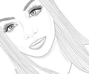 Pin On Coloring Cute Girl Coloring Pages For Teenage Girl Printable Pretty Girl Co People Coloring Pages Tumblr Coloring Pages Coloring Pages For Teenagers