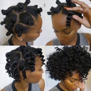 How To Curl Your Hair Without Heat No Heat Curls Styles And Tutorials Cur Natural Hair Styles Protective Hairstyles For Natural Hair How To Curl Your Hair