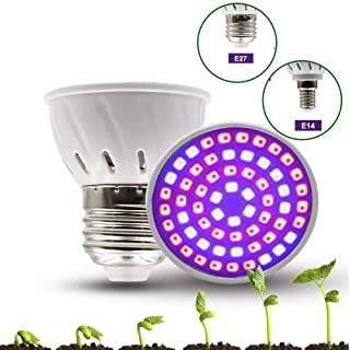 E27 LED Grow Light 120W Hydrokultur Innen Beleuchtung Pflanzenlampe Vollspektrum
