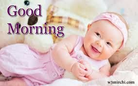 baby good morning pics