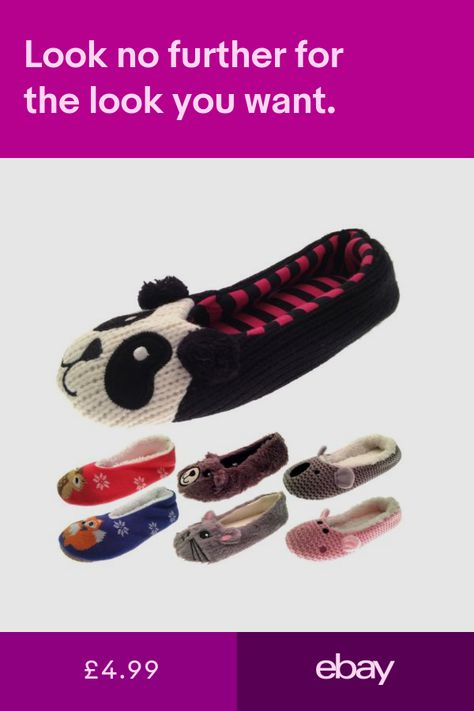 2f97e16980f0 Womens Slippers Ballet Mules Fun Novelty Slippers Bed Socks Fluffy ...