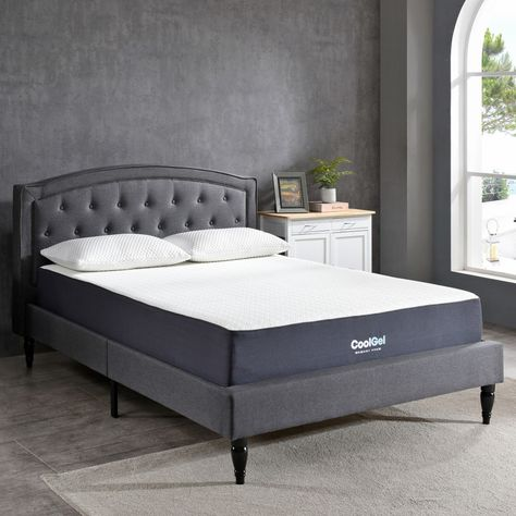 Solstice Cool Gel Memory Foam Mattress King Beds And Headboards