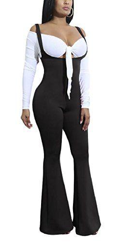 Gocgt Womens Casual Button Down Short Sleeve Jumpsuit Romper Loose Wide Leg Long Pants