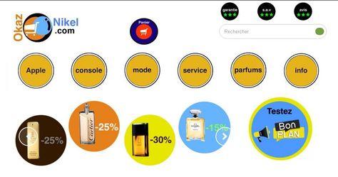 Votre parfum de marque homme ou femme pas cher sur OkazNikel.  #parfum #homme #femme #vente #achat #echange #produits #neuf #occasion #hightech #mode #pascher  #sevice #marketing #ecommerce