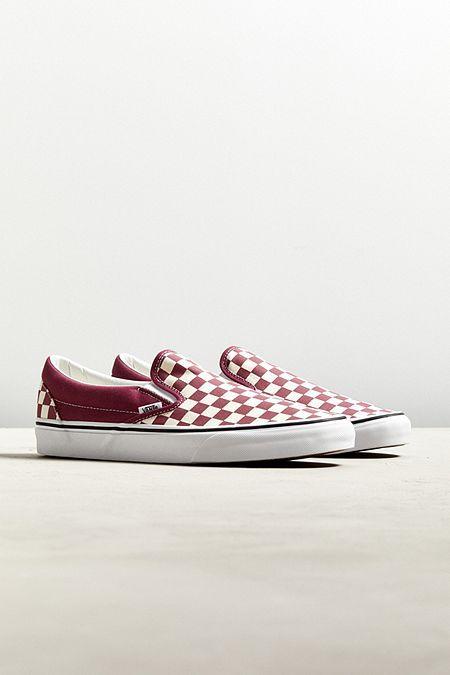 Vans Classic Colorful Checkerboard Slip