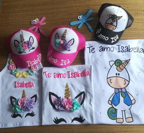 Blusas y camisetas de unicornio personalizadas Mamá papá e hija Abilia  Shopping Whatsapp 3132196957 58e8c18bcdb