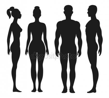 Front And Side View Silhouettes Of Man Woman Man And Woman Silhouette Silhouette Man Silhouette Images Collection of male head silhouette (48). front and side view silhouettes of man
