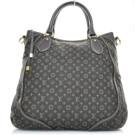 b940e07cd3 LOUIS VUITTON Mini Lin Monogram ANGELE Tote Bag LV | Bag it! | Sac à ...