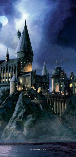Harry Potter Castle Moonlit Hogwarts Otterbox Symmetry