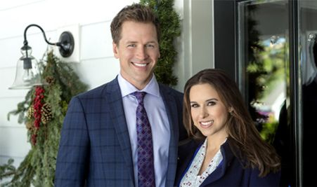 Hallmark Channel S A Wish For Christmas Starring Lacey Chabert Paul Greene