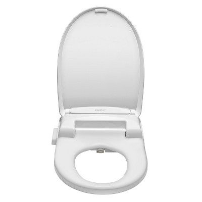 Sb 100r Electric Bidet Toilet Seat For Elongated Toilets White