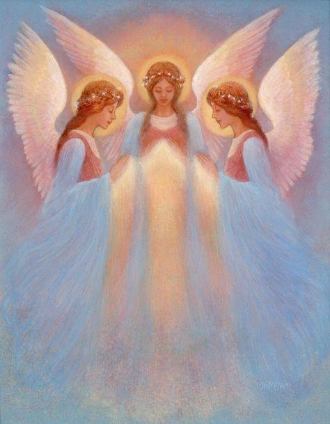 Angels In Art - Angels Fan Art (40757373) - Fanpop