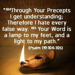 Image result for psalm 119:104