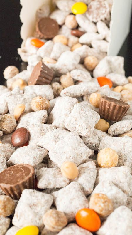 The Best Reese S Puppy Chow Recipe Puppy Chow Recipes Snack Mix Recipes Chex Mix Recipes