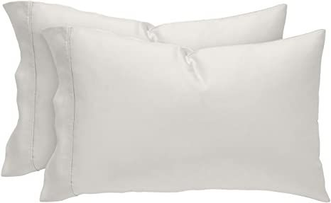 Stone Beam Wrinkle Resitant 100 Tencel Pillowcase Set Set Of 2 King White In 2020 Beams Pillow Cases Tencel