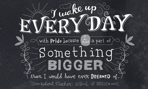 Hand Lettering by Nate Williams