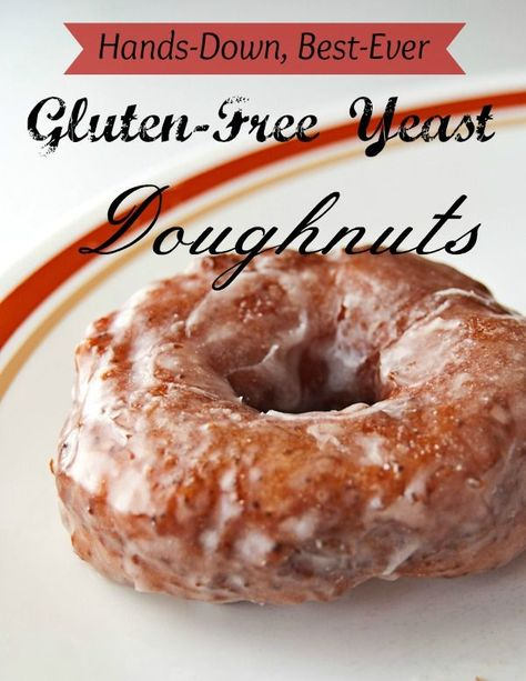 The BEST doughnuts ever! You'll never know they're gluten-free! My sister introduced me to this recipe a few years ago, and it was amazing!
