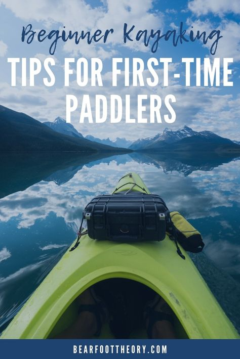 Kayaking Discover Beginner Kayaking Tips for First-Time Paddlers Build confidence with these beginner kayaking tips. Learn about different types of kayaks what to wear how to paddle & trip planning considerations. Sit On Kayak, Canoe And Kayak, Kayak Fishing, Canoe Trip, Fishing 101, Single Kayak, Double Kayak, Kayaking Outfit, Kayaking Tips