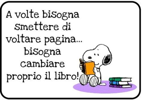 Snoopy docet