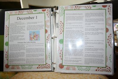 Christmas Tradition Book-(READ)I want to make one of these!