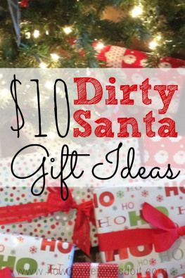 You've been invited to a Christmas party where there will be a Dirty Santa gift exchange and you're looking for the perfect gift. The MOST WANTED gift. The gift that is stolen so many times that it is frozen. After all, that's what makes the Dirty Santa gift exchange so fun!