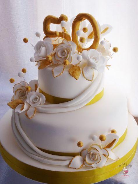 Risultati Immagini Per Torte 50 Anni Matrimonio Torte Per