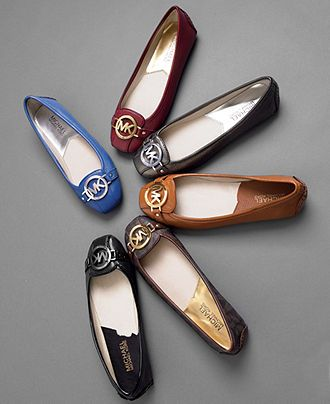 b086a3eefc356 Michael Kors Fulton Moc Flats - Love the simple style. I ve had the brown  ones for months now