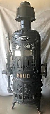 Antique Ruud Automatic Water Heater No 4 F 999 00 Water Heater Antiques Heater