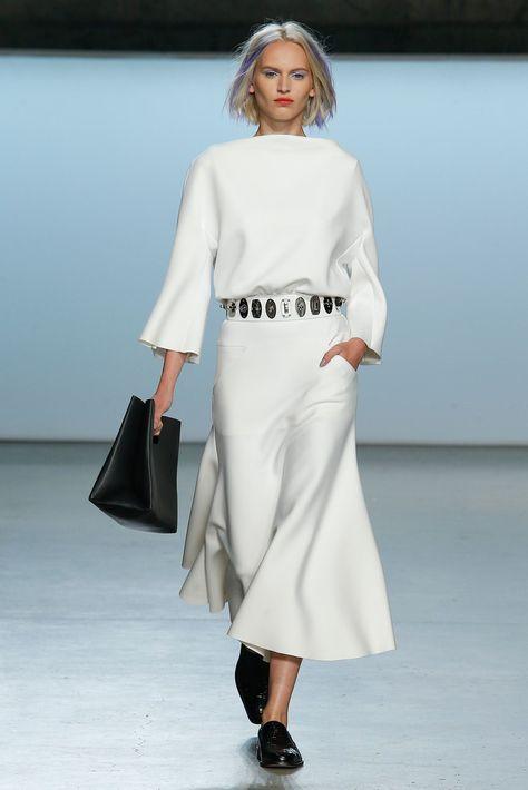 Sally LaPointe Spring 2015 Ready-to-Wear Fashion Show - Rina Karuna (ONE)