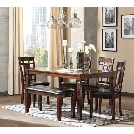 b8deea48acd324bdf78aff3e6f9eacbd - Better Homes And Gardens Bankston 6 Piece Dining Set Mocha