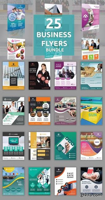 25 فلاير بصيغة Psd لمصممى الدعاية والإعلان Business Flyer Flyer Flyer Template
