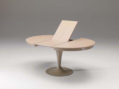Eclipse Tavolo Rotondo Allungabile.Tavoli Allungabili Rotondi By Ozzio Round Dining Table Modern