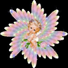 animated baby | Clipart-Angels-Animated-Babies-Rainbow | Flickr - Photo Sharing!