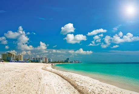 Pompano Beach in Florida.  My wife and I stayed across from this beach on our honeymoon.  It was great