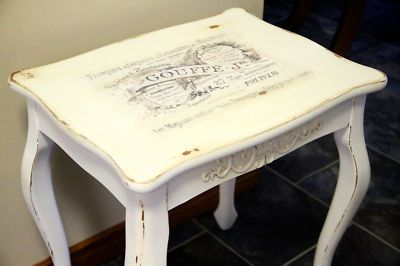 French Provincial shabby Chic Coffee Table... nice!