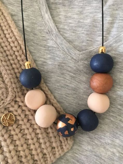 Fimo paste - Inspiring - fimo creations – minimal necklace - aufbewahrung garten kleidung kosmetik wohnen it yourself clothes it yourself home decor it yourself projects