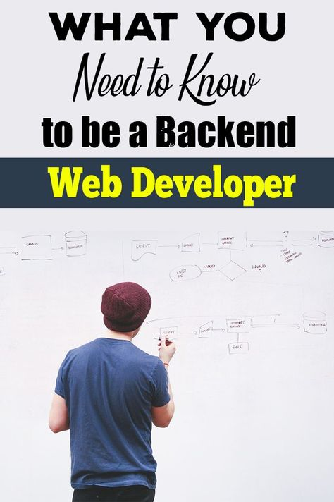 In web development, there are two parts. The backend and the frontend. The frontend is what you see in the browser, while the backend handle things like file parsing, database operations, etc.  This is what you need to know to pursue a career in web development.  #webdevelopment #programming #coding