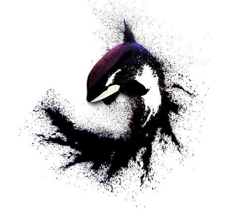 Orca tattoo-I'd like to see a turtle like this