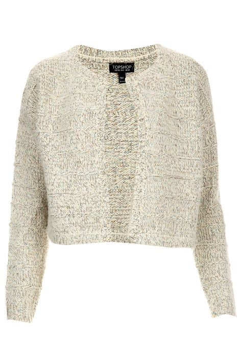 Knitted Shimmer Cropped Cardigan Debutante | Fashion