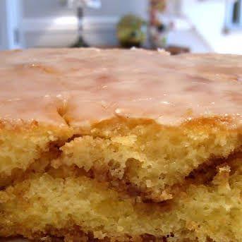 Honey Bun Cake Recipe Yummly Recipe In 2020 Honey Bun Cake Honey Buns Bun Cake