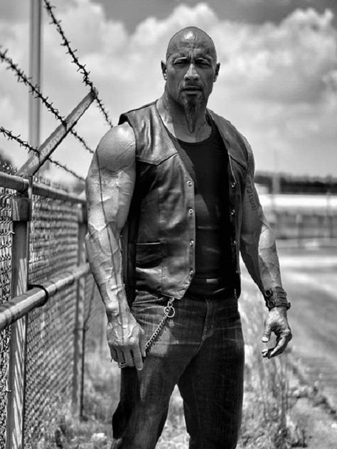 Dwayne Johnson posts his new look for Vin Diesels Fast 8 and it is making us DESPERATE to hit the gym!
