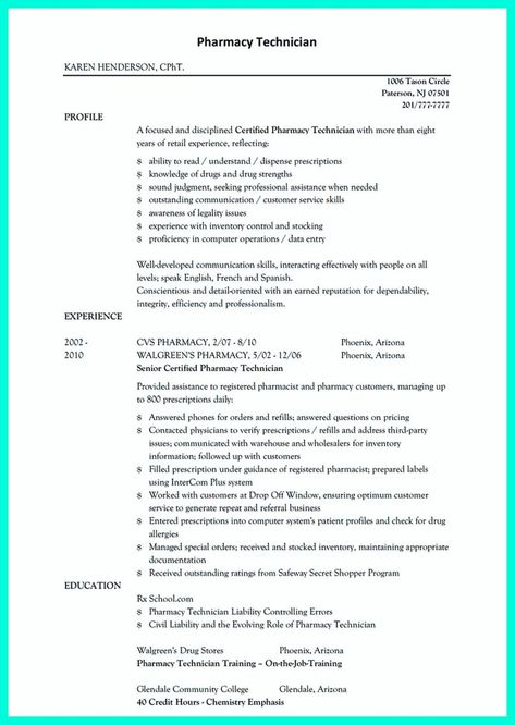 Walgreens Resume Paper - Resume Ideas